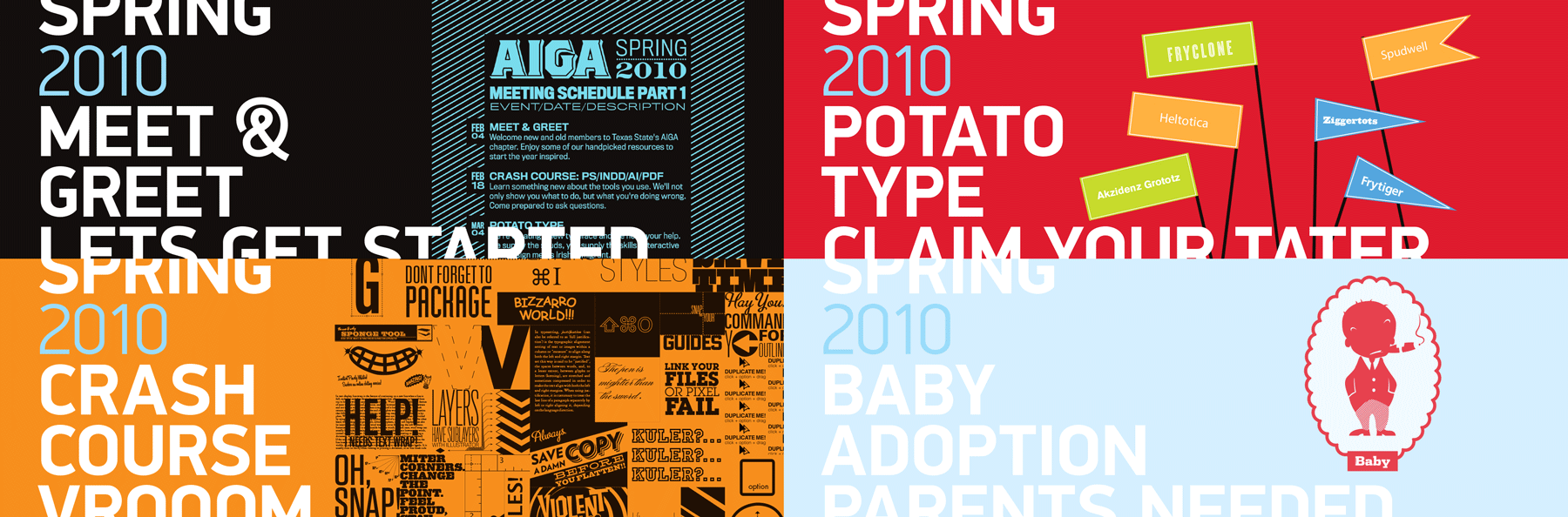 aiga-sections