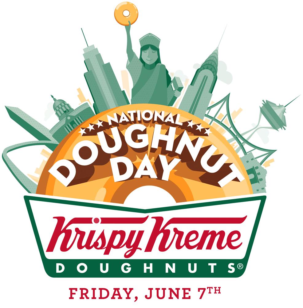 National Doughnut Day Logo