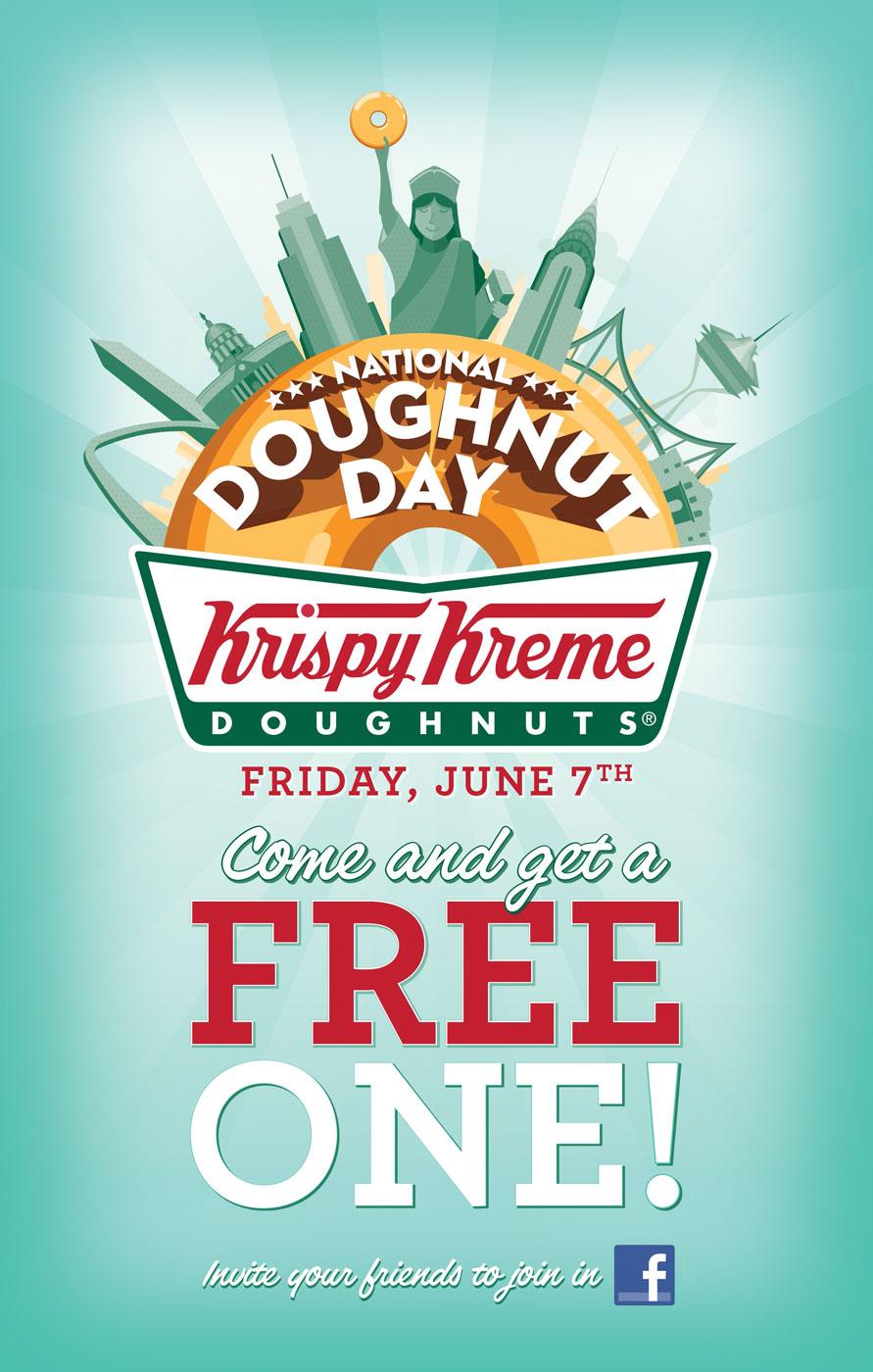 National Doughnut Day Poster